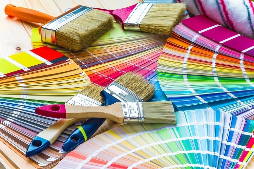 kolory we wnętrzach
